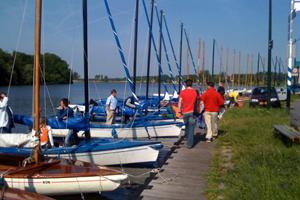 Varen op de Kaag - Dan naar de boten en optuigen.