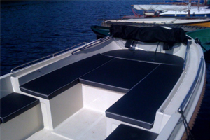 Varen op de Kaag - Kaag Lifeboat KLB 850 - Sloep deck